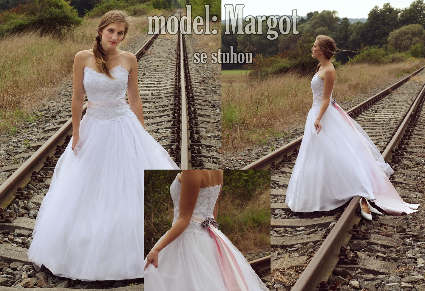 model Margot se stuhou